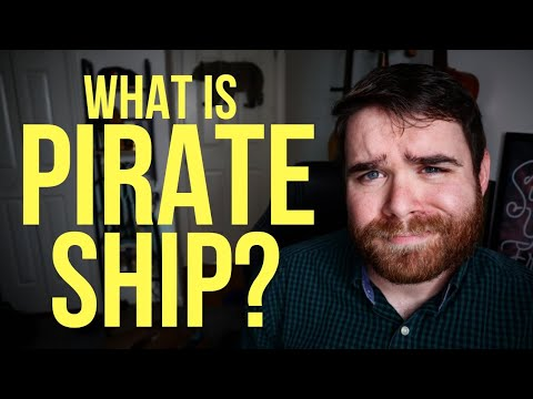 How To Use Pirate Ship To Save $$$ On Shipping Costs!