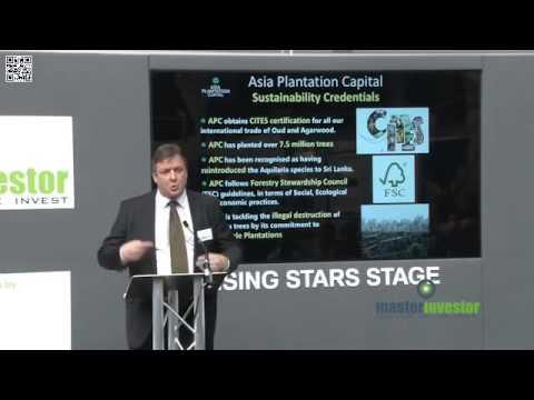 Rising Stars Stage at Master Investor 2015