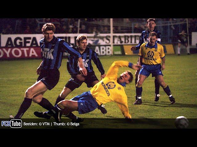 1994-1995 - Jupiler Pro League - 24. SK Beveren - Club Brugge 0-2