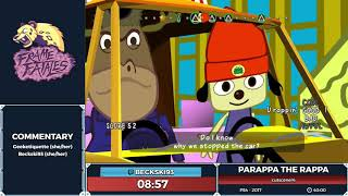 PaRappa the Rappa Remastered by Beckski93 in 34:36 - Frame Fatales 2019