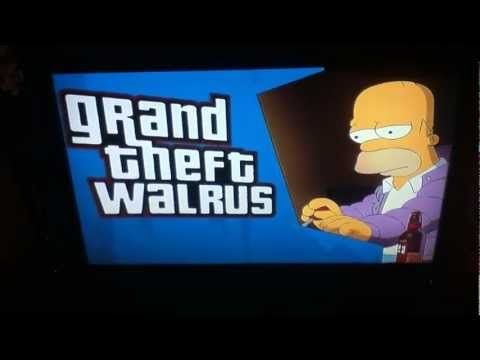 Grand theft walrus dating sim