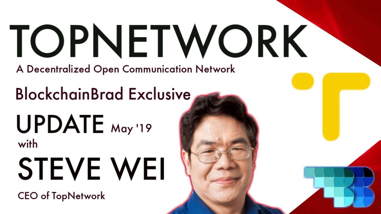 TopNetwork Exclusive Update | BlockchainBrad | Crypto Communication Network | Real-World Business