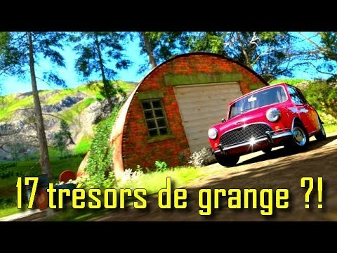 forza horizon 4 tous les tr sors de grange et leurs emplacements youtube. Black Bedroom Furniture Sets. Home Design Ideas