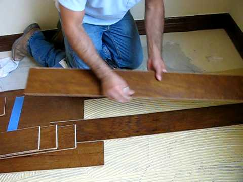 Making End Cuts On Wood Floors By Austin Flooring Store Youtube