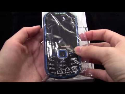 Samsung Intensity 2 Unboxing