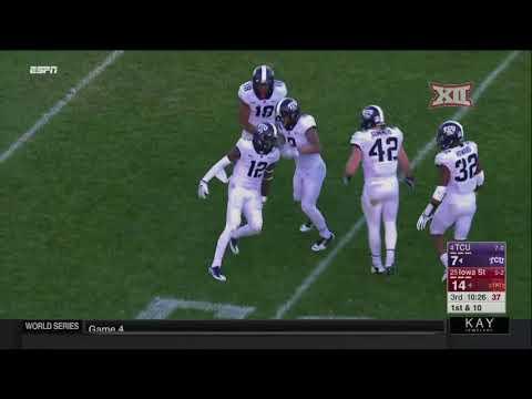 TCU at Iowa State Football Highlights