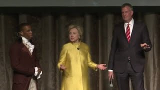 Hillary Clinton Jokes About 'CP Time' With De Blasio