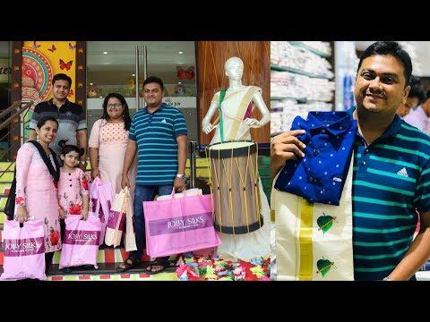 ഓണക്കോടി ഷോപ്പിംഗ്  - Onam Special Family Shopping From Jolly Silks, Thrissur