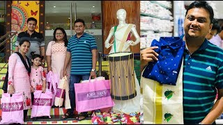 ഓണക്കോടി ഷോപ്പിംഗ്  - Onam special family shopping from Jolly Silks, Thrissur