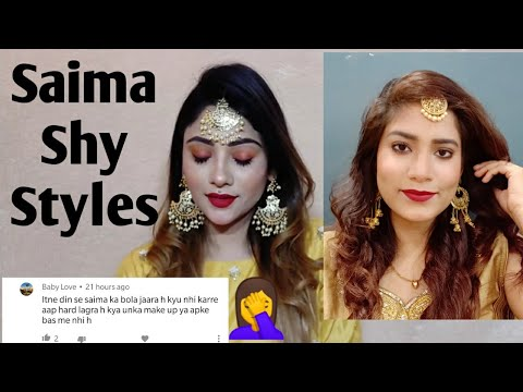 Day 7 Shy Styles Saima Inspired Makeup Look ❣️ - #7Days7Challenge - MakeupLoverSejal ❣️ - 동영상