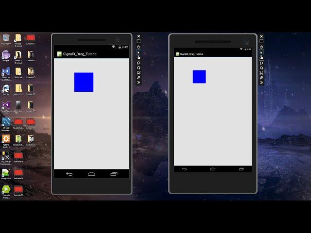 Xamarin Android Tutorial   78   SignalR App