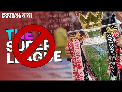 What if European Super League Clubs Were BANNED From Football [Football Manager 2021] |