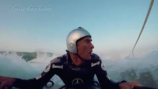 Big Wave Surfing documentary with Andrew Cotton by Japanese National Broadcaster N H K