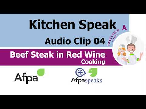 Clip 04 Cooking Beef Steak in Red Wine