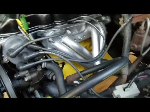 Toyota 22r Running With Lce Header And Exhaust