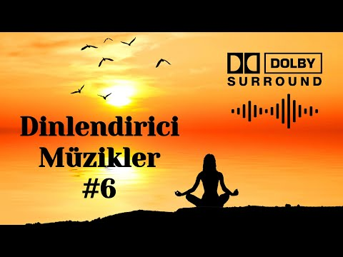 Dinlendirici Rahatlatıcı Müzikler #6 Relaxing music Meditasyon su sesi kuş gitar flüt piano sesi