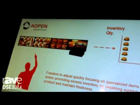 DSE 2014: AOpen Presents Its eTile 19 Fully Interactive Display, Hardware and Service Solutions