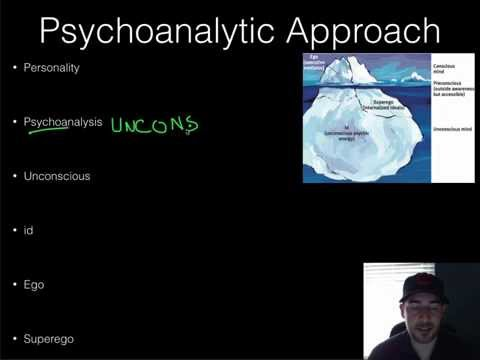 AP Psychology - Personality - Part 1 - Psychoanalysis