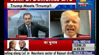Donald Trump Impersonator John Di Domenico on Indian News Zee Business