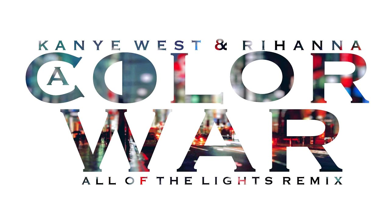 Kanye West All of The Lights aColorWar Trap Remix