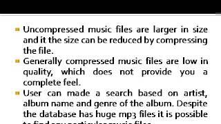 MP3 Songs Database
