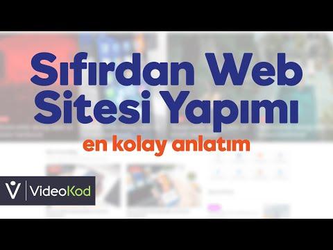 Html Web Sitesi Yapımı - En Kolay Anlatım 2021