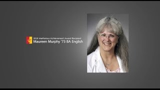 Maureen Murphy - 2016 Meritorious Achievement Award Recipient