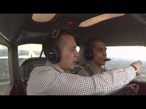 Class D Airspace in Cessna 152: Griffith (05C) to Gary (KGYY)