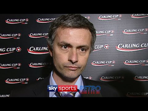 """Jose Mourinho's interview after winning his first trophy with Chelsea; """"I have to prove what?"""""""