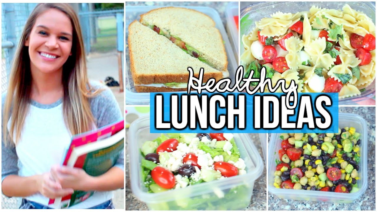 healthy back to school lunch ideas quick affordable youtube