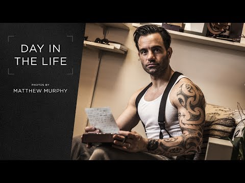 Broadway.com Day in the Life with ANASTASIA star Ramin Karimloo - Photos by Matthew Murphy
