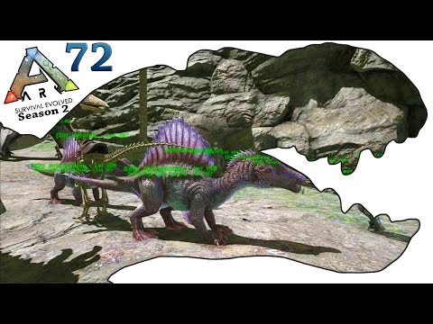 ARK Survival Evolved Gameplay - S2 Ep72 - Baby Spinosaurus and Baby Paraceratherium - Let