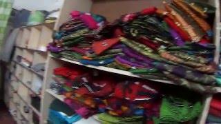 IHL330. Покупаем сари на занавески. Путтапарти, Индия.