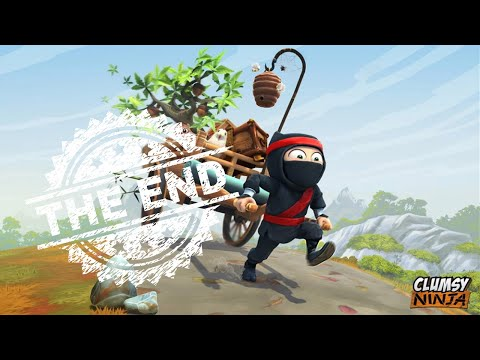 Clumsy Ninja, The End task finish level 56
