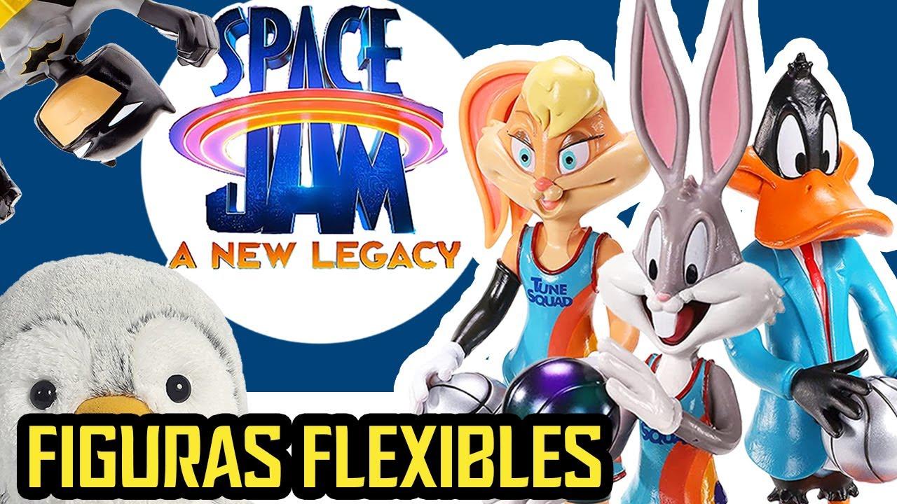 🏀 SPACE JAM Figuras Flexibles BENDYFIGS LOONEY TUNES Exclusivas de Walmart USA || Pachi y sus amigos