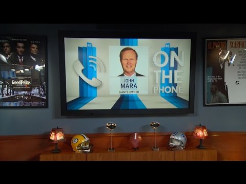 Co-owner of New York Giants John Mara Talks OBJ, Dan Rooney & More - 5/9/17