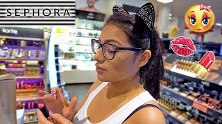 Full Face Of Makeup Only Using Sephora Testers!!