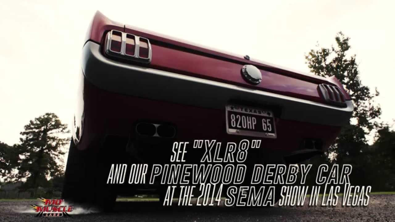 2014 SEMA Pinewood Derby Car!! \
