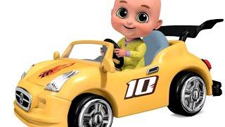 Car Videos EP - 2 | Red Light, Red Light | Jugnu kids Nursery Rhymes and Baby Songs