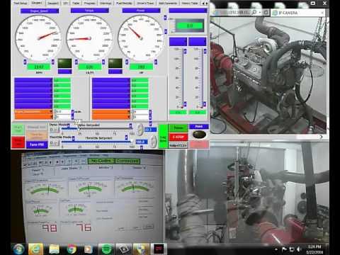 8v92 DDEC 2 500HP Dyno Test