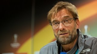 jurgen klopp pre match press conference villarreal vs liverpool europa league