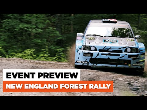 New England Forest Rally 2021 - Event Preview | With Hoonigan's Zac Mertens