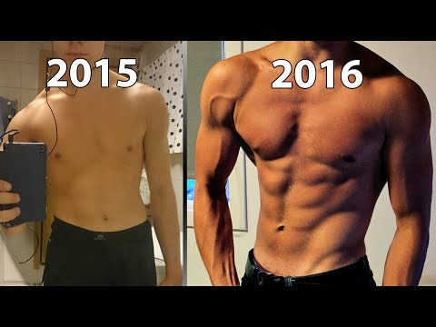 1 Year Natural Body Transformation ★ 16-17 Swedish JoelkarlHD