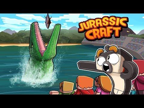 Minecraft Jurassic Craft - RETURN OF DINOSAURS!