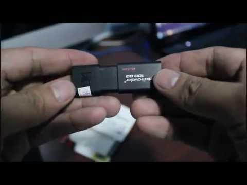 Kingston Data Traveler 100 G3 64GB: what's on the box