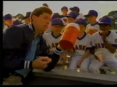 Orel Hershiser: Pizza Hut commercial (1989)