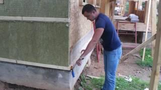 видео Теплоизоляция и ветрозащита вентилируемого фасада