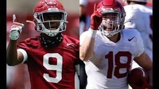 Jordan Battle And Slade Bolden Talk Alabama Football Improvements Heading Into A-Day | SEC News