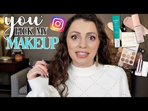 SUBSCRIBERS PICK MY MAKEUP / New Makeup Try-On thumbnail