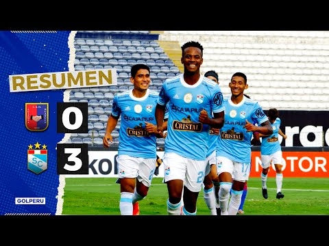 Alianza Huanuco Sporting Cristal Goals And Highlights